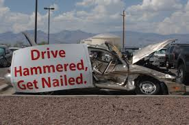Drive hammered, get nailed
