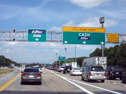 Eventually, they put up Cash Keep Right signs