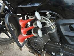 Get a good horn for your motorcycle
