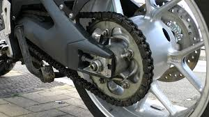 If the motorbike chain breaks, the bike stops