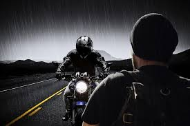 eady riders arrive dry