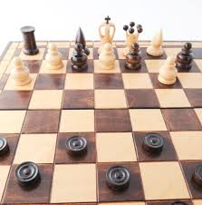 Is riding checkers or chess?